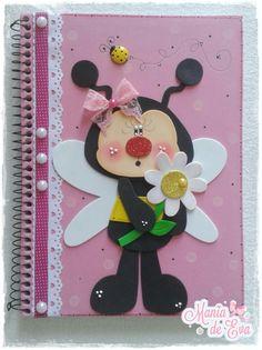Diy And Crafts, Paper Crafts, Preschool Bulletin, Decorate Notebook, Kids Cards, Tapas, Bee, Scrapbook, Dolls