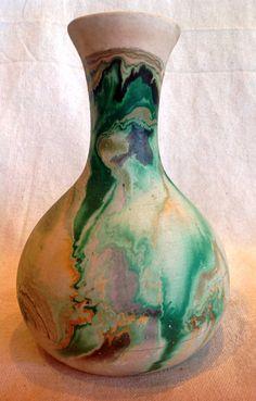 Canada Goose kids replica fake - Inuit Fishing Vase - 1950s Studio Pottery - Ethnic Canada decor ...