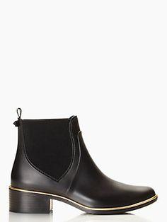 sedgewick rain boots | Black | Kate Spade