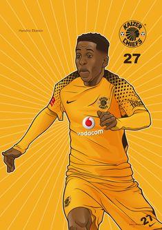 Iwisa Kaizer Chiefs Players_Poster Collection_Hendrick Eskstein