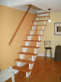 Narrow staircase