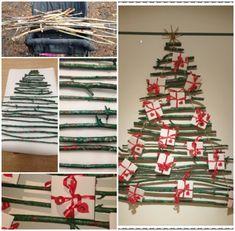 Förskoleburken: tips på adventskalender Christmas Crafts, Calendar, Holiday Decor, Tips, Home Decor, Advent Calendar, Decorations, Handmade Christmas Crafts, Decoration Home