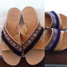 Palm Beach Sandals, Slippers, Slip On, Handmade, Fashion, Moda, Sneakers, Hand Made, Fashion Styles