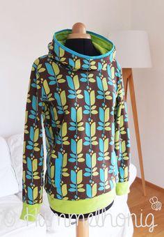Damen Hoodie & Sweatshirt (Gr. 34 - 46) Schnittmuster und Nähanleitung - Nähanleitungen bei Makerist