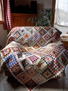 confetti quilt..I want one of these!