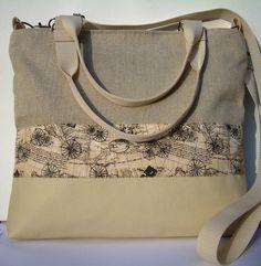 J KOLLEKCIÓ: City bag  XXL : Beige elegancia,  www.meska.hu