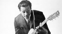 """npr:  """" Legendary musician Chuck Berry, who was central to the development of rock and roll beginning in the '50s with indelible hits like """"Roll Over Beethoven,"""" """"Rock and Roll Music"""" and """"Johnny B. Goode,"""" died today in St. Charles County, Mo. He was..."""