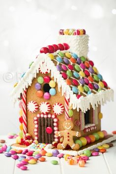 Gingerbread house - Royalty Free Stock Photo