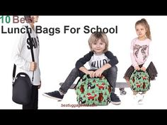 Best Lunch Bags For School Best Lunch Bags, School Bags, College, Youtube, University, Youtubers, Youtube Movies, School Tote Bags, Community College