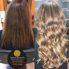 Great lengths hair extensions 🔥👸🏼 #hairextensions #longhair #longhairgoals #greatlengths #ghd #waves #curlholdspray #olaplex #shine #wellacolour #wella #keratin #pretty #hairinspiration #natural #humanhair