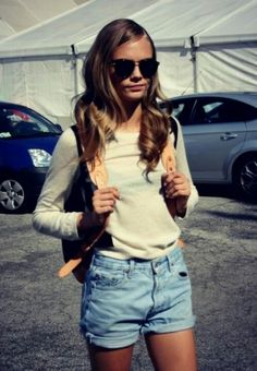 Love this outfit || Cara Delevinge