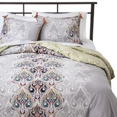 Boho Boutique� Suvi Brocade Reversible Duvet Cover Set