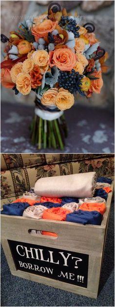 navy blue and light peach wedding color combo ideas for 2018 #blueweding #weddingcolors #weddingideas / http://www.deerpearlflowers.com/navy-blue-wedding-color-combo-ideas/