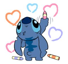 Stitch Stickers by The Walt Disney Company Ltd ( Japan). Stitch (also known as Experiment is a fictional character in the Lilo & Stitch. Disney Stitch, Lilo Stitch, Cute Stitch, Lilo And Stitch Tattoo, Disney Drawings, Cute Drawings, Stitch Tumblr, Stitch Et Angel, Stitch Drawing