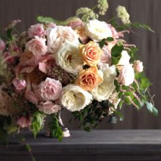 Left over flowers means one thing...PHOTOSHOOT! @sgranado Floral by Jackson Durham #jacksondurham #weddingflowers #floral #flowers #floraldesign #events #eventdesign #gardenrose #wildflowers #astilbe #blushandivoryflowers