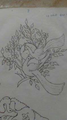 Hand Embroidery and Its Types - Embroidery Patterns Rangoli Patterns, Rangoli Border Designs, Rangoli Designs Diwali, Rangoli Designs With Dots, Beautiful Rangoli Designs, Kolam Designs, Tambour Embroidery, Bird Embroidery, Embroidery Stitches