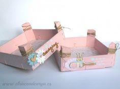 cajas de fresas decorada