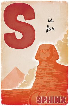 S is for Sphinx ( by Derek Sullivan)