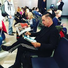 Till Lindemann - Berlin, Germany Airport November 2015....  #TillLindemann #Rammstein