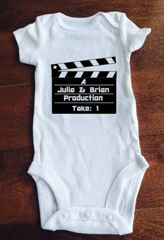 Personalized baby name onesie with last name babies personalized baby onesiebodysuit custom parents by minniemadeit negle Gallery
