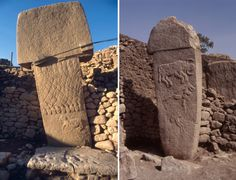 Göbekli Tepe is the oldest megalithic structure on earth, predating Stonehenge by 6600 years and the Pyramids by 7100 years. Archaeological Discoveries, Archaeological Site, Ancient Discoveries, Turkey Travel, Stonehenge, Stone Work, Prehistory, Ancient Civilizations, Archaeology