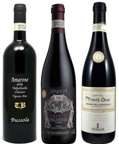 Understanding Amarone - Here's a really great article focused on my absolute favorite Italian wine, Amarone. Anyone who likes Italian wines has to make sure to try a great Amarone.  Molto Bene.