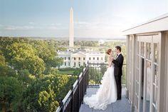 DC Wedding Venue - The Hay Adams - Washington, DC www.CharmingGraceEvents.com
