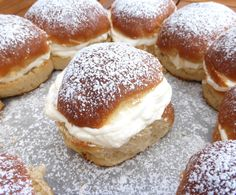 Sweden's Favourite Buns: Semlor (with Cardamom and Almond Paste)