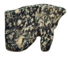 AMULETO. Ojo de Horus. Baja Época (664-525 a.C.). Granito.  Este producto viene acompañado de su certificado de autenticidad y garantía. 2,0 cmComprar antiguedades. Arqueología. Antiguedades. Comprar arqueología y antiguedades. Compra de arqueología y antiguedades.