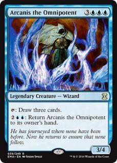 GALAXY-COMICS: MTG Eternal Masters. Spoiler visual: Azul