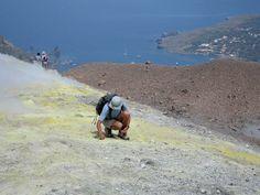 Fumeroles Mount Etna Sicily