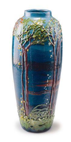 "Max Laeuger ""Four Seasons"" Vase"