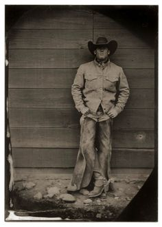 """Steve Eytcheson  JA Ranch, Texas - on work, family, and western life.  """"That's what I just want to do - punch cows for a living.""""Listen to an interview"""