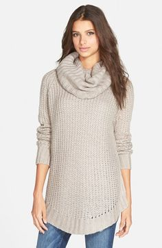 Dreamers by Debut Cowl Neck Sweater available at #Nordstrom. In Olive**