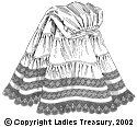 Free Pattern: Misses' or Ladies' Petticoat, 1907 - The Ladies Treasury of Costume and Fashion