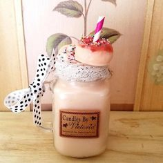 Highly Scented Candles & Wax Tarts - Milkshake Candles - Choose your favorite! Candles By Victoria, Cookies And Cream Milkshake, Wax Tarts, How To Make Cookies, Mint Chocolate, Candle Wax, Burning Candle, Scented Candles, Fragrance