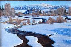 greg mchuron artist   Gregory McHuron - Landscape and Wildlife in Oil and Watercolor
