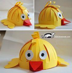 PLANETA ATIVIDADES: Como fazer chapéus de animais para crianças de modo fácil e rápido! Com molde