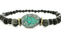 Mala Bead Yoga Bracelet Wooden Mala Beads by peaceofminejewelry, $16.00