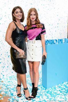 Juliana Paes e Marina Ruy Barbosa participaram de evento beneficente da grife Louis Vuitton em parceiria com a Unicef