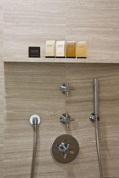 Hotel Marignan Paris, interior design by Pierre Yovanovitch with Ex Voto Paris toiletries in the bathrooms _