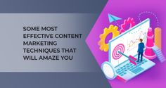 As image says it all, the main point for this image is to know Effective Content Marketing Techniques That Will Amaze You. For more content marketing services and content marketing techniques, visit at ProICT Training, also can connect at +1-718-285-9928.