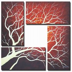Canvas Art-tree. love this