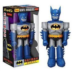 Batman Robot Vinyl Invader 11-Inch Vinyl Action Figure http://popvinyl.net #funko #funkopop #popvinyl