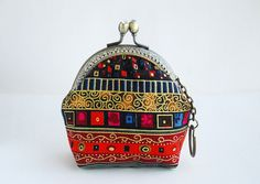 under the earth Coin Purse Metal Frame ♥ by lazydoll on Etsy, $17.99