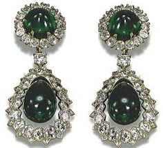 ... Diamond Earrings of Catherine the Great, Imperial Russian Crown Jewels