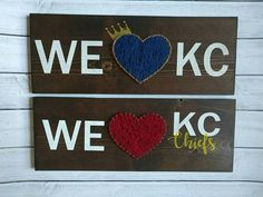 Check out this item in my Etsy shop https://www.etsy.com/listing/567544373/we-heart-kc-sign-choose-1