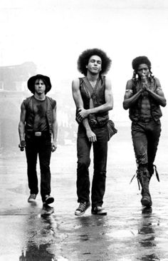 """The Warriors, (L-R) """"Cowboy"""" """"Rembrandt"""" and """"Cochise"""" Movies Showing, Movies And Tv Shows, Warrior Movie, Films Cinema, Cult Movies, Great Movies, Awesome Movies, Film Stills, Movie Characters"""