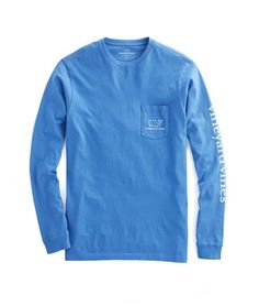 41565ae6 Shop Long-Sleeve Vintage Whale Graphic Pocket T-Shirt at vineyard vines