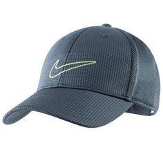 6dde63ce Nike Golf 2012 Mesh Trucker Cap Hat (Blue / Blue / Lemon Twist) Nike. $19.99